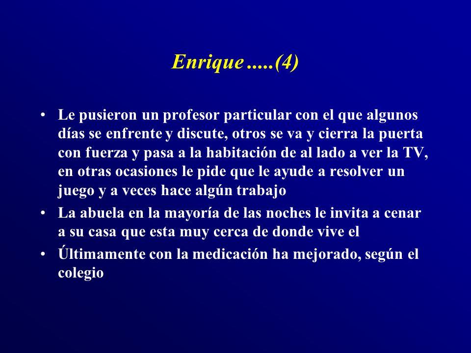 Enrique .....(4)