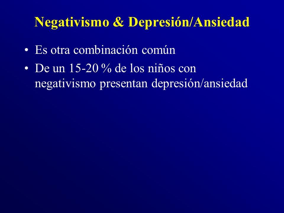 Negativismo & Depresión/Ansiedad