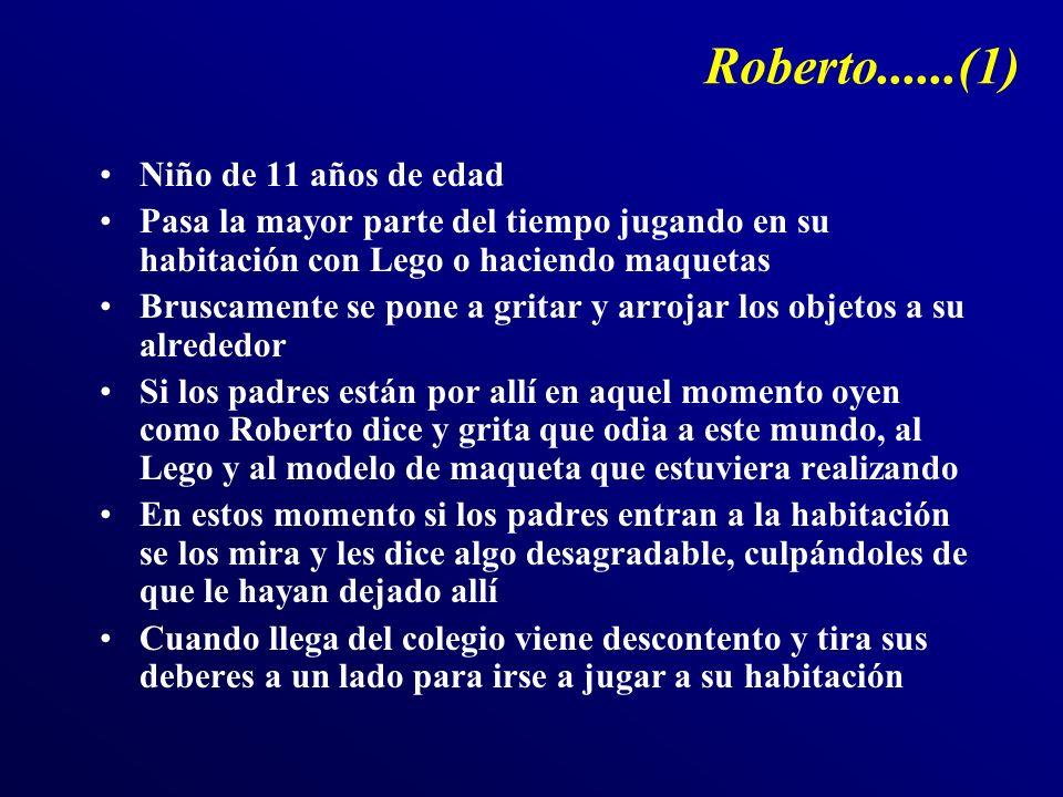 Roberto......(1) Niño de 11 años de edad