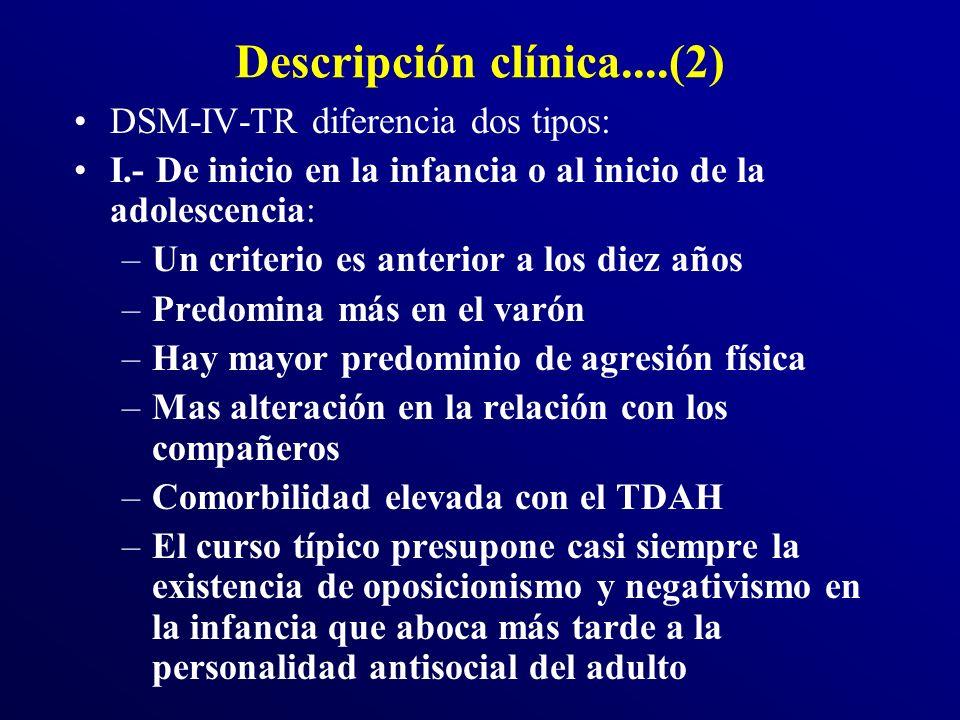 Descripción clínica....(2)