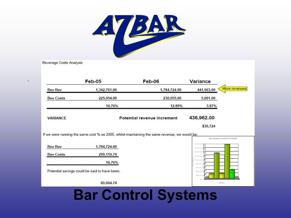 . Bar Control Systems