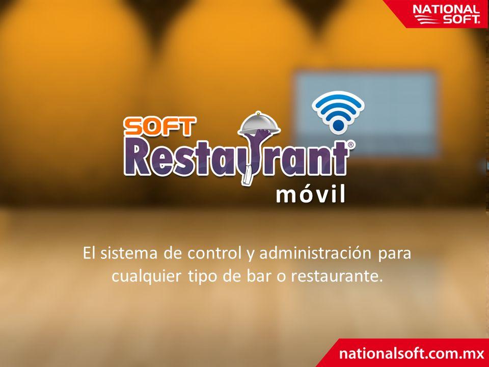móvil El sistema de control y administración para cualquier tipo de bar o restaurante.