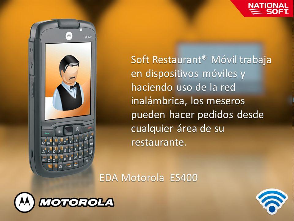 Soft Restaurant® Móvil trabaja
