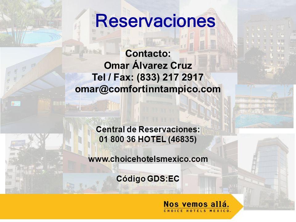 Central de Reservaciones: