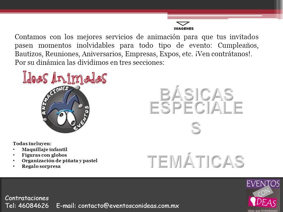 BÁSICAS ESPECIALES TEMÁTICAS