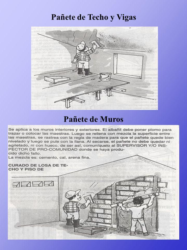 Pañete de Techo y Vigas Pañete de Muros