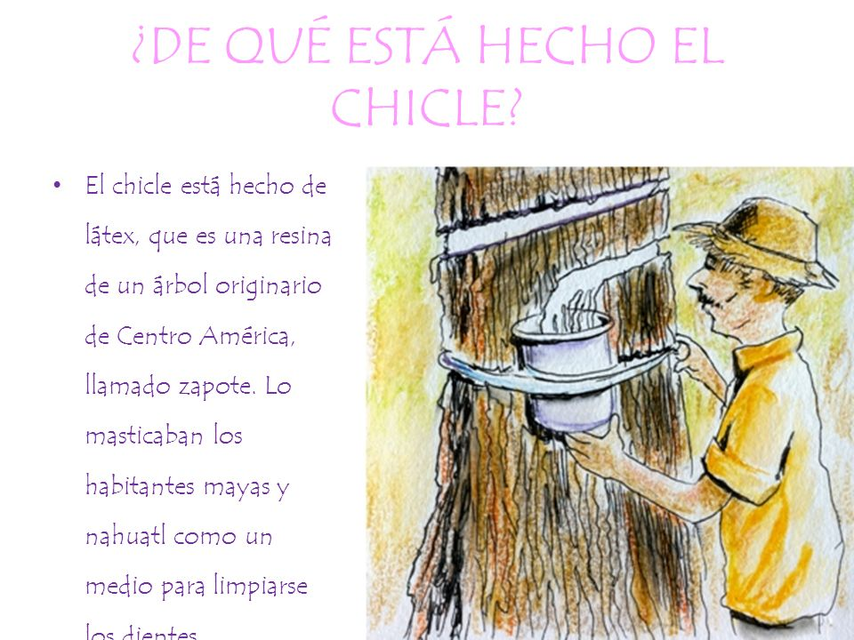 elaboraci n de un chicle ppt descargar