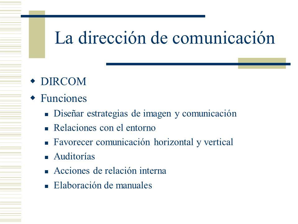La dirección de comunicación