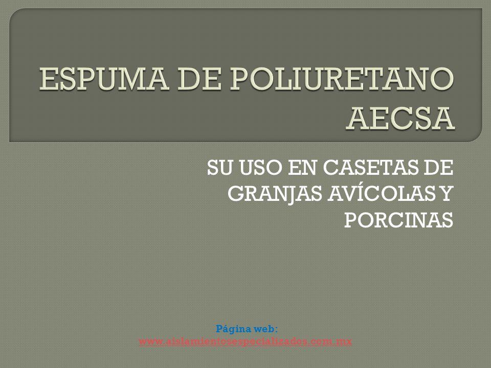 ESPUMA DE POLIURETANO AECSA