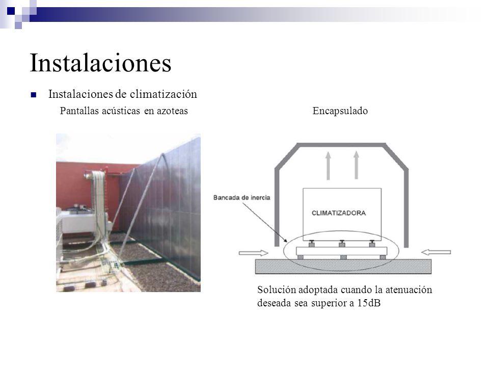 Instalaciones Instalaciones de climatización