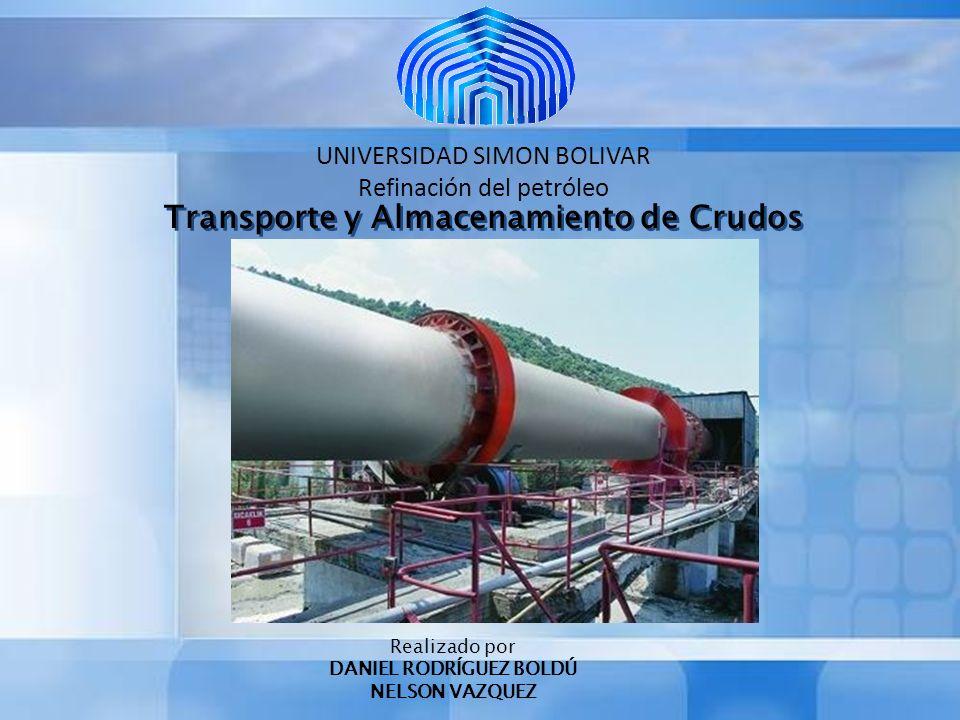 UNIVERSIDAD SIMON BOLIVAR Refinación del petróleo