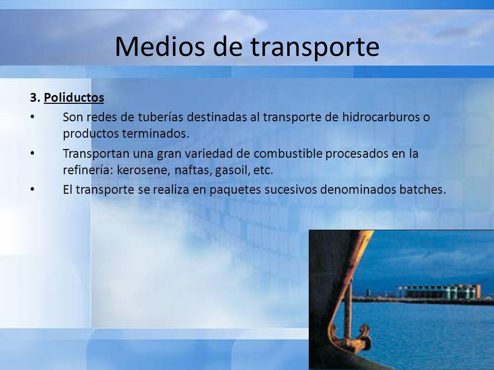 Medios de transporte 3. Poliductos