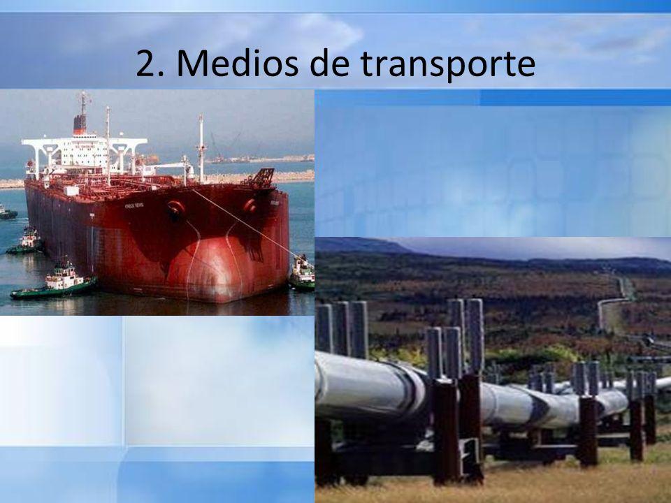 2. Medios de transporte