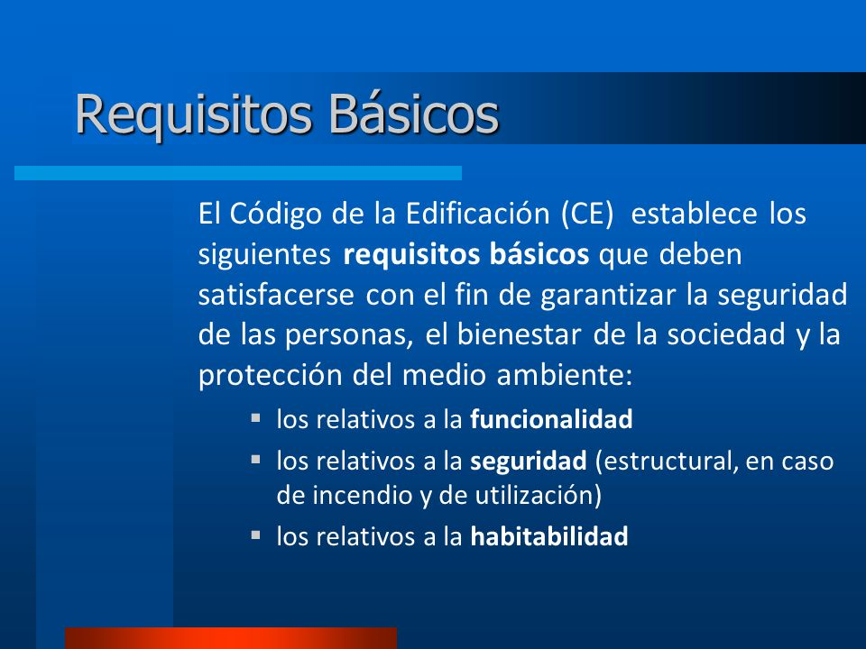 Requisitos Básicos