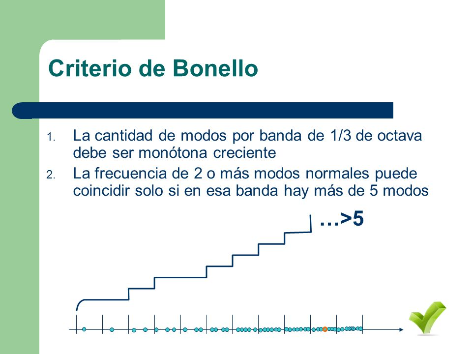 Criterio de Bonello …>5