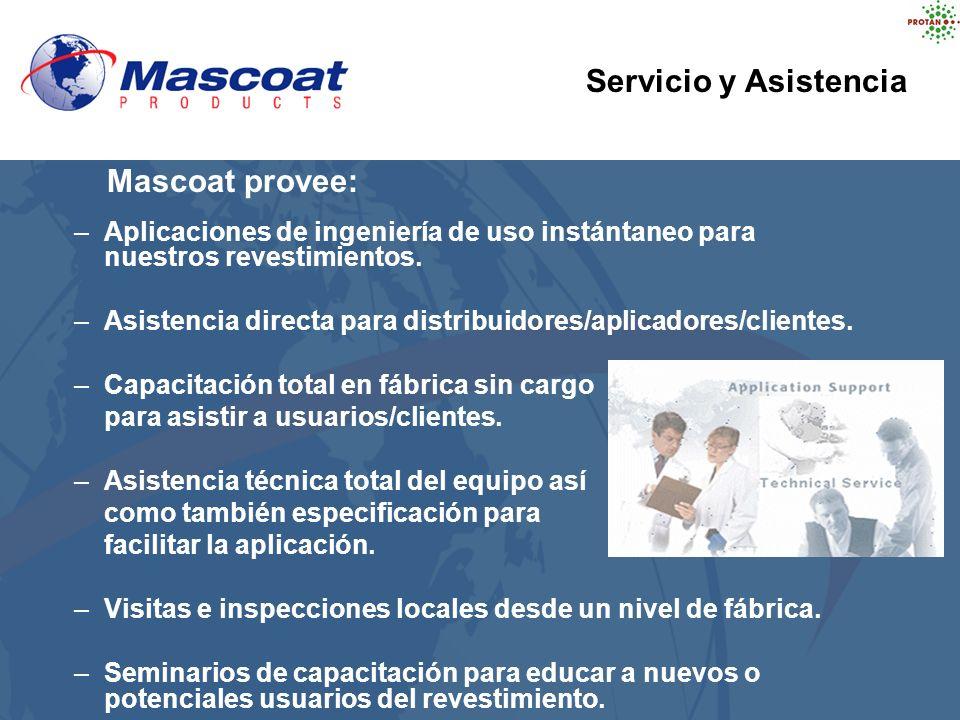 Servicio y Asistencia Mascoat provee: