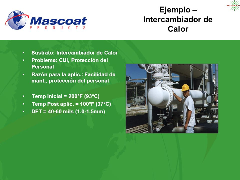 Ejemplo – Intercambiador de Calor