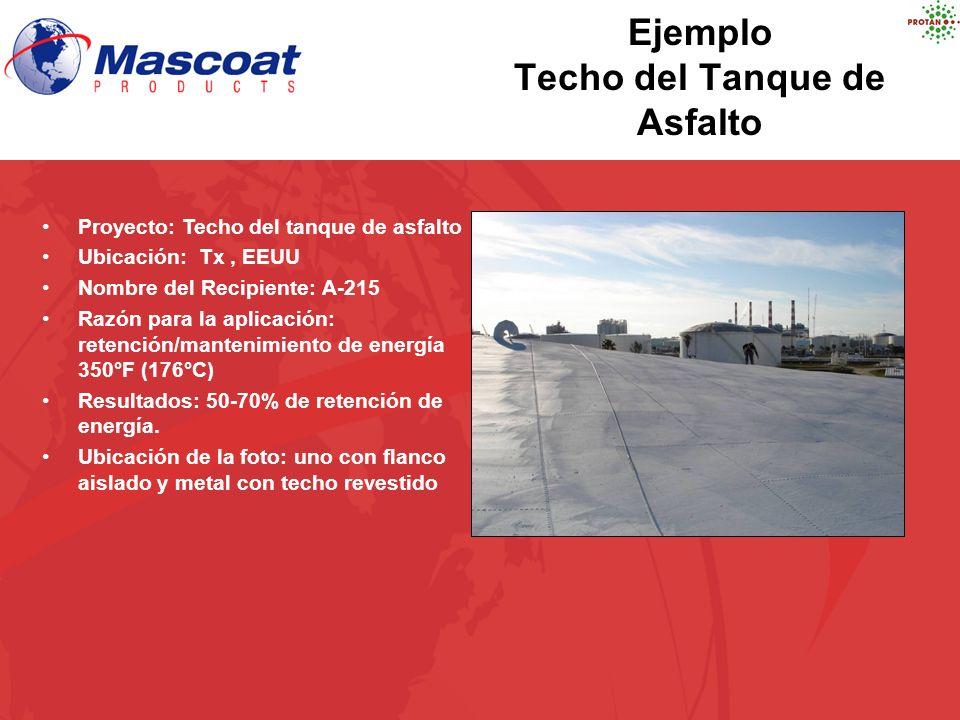 Ejemplo Techo del Tanque de Asfalto