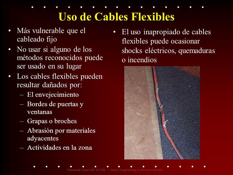 Uso de Cables Flexibles