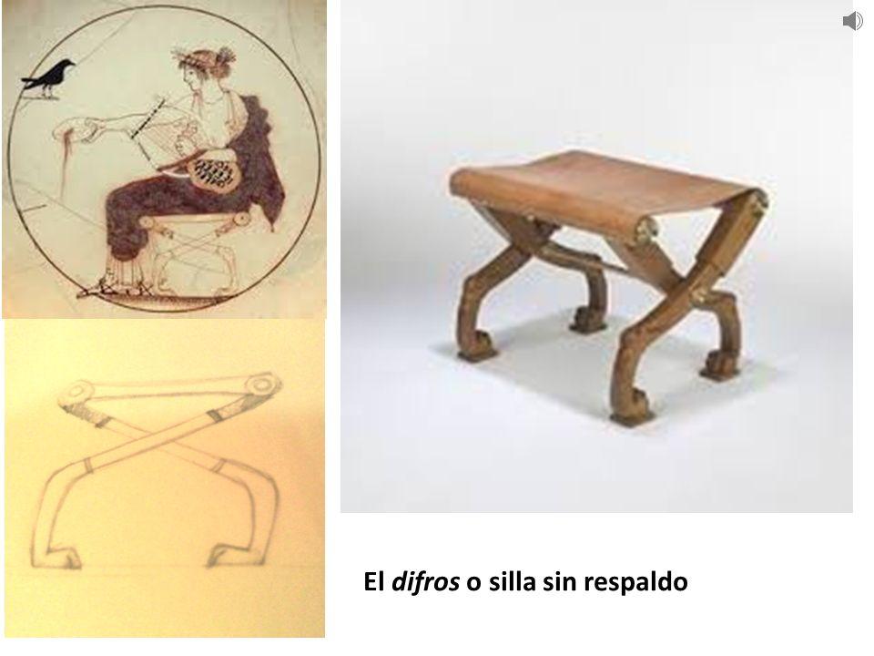 Grecia 1200 y 300 ac dise o de mobiliario ppt descargar - Silla sin respaldo ...