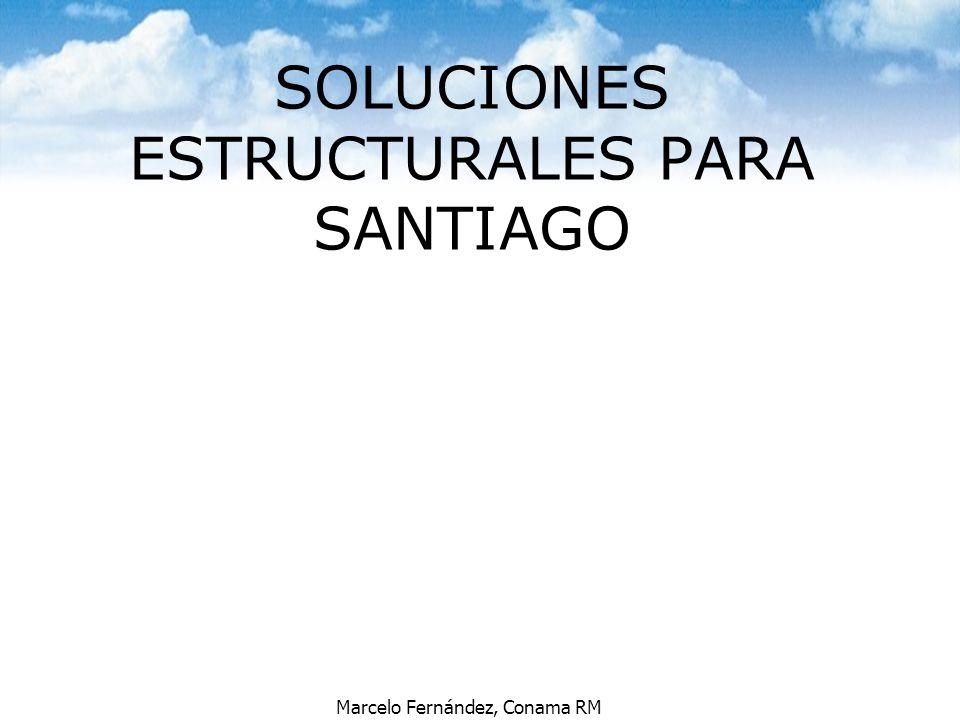 SOLUCIONES ESTRUCTURALES PARA SANTIAGO