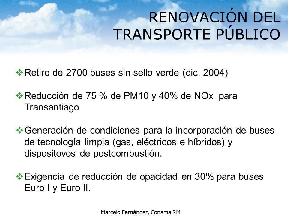 RENOVACIÓN DEL TRANSPORTE PÚBLICO