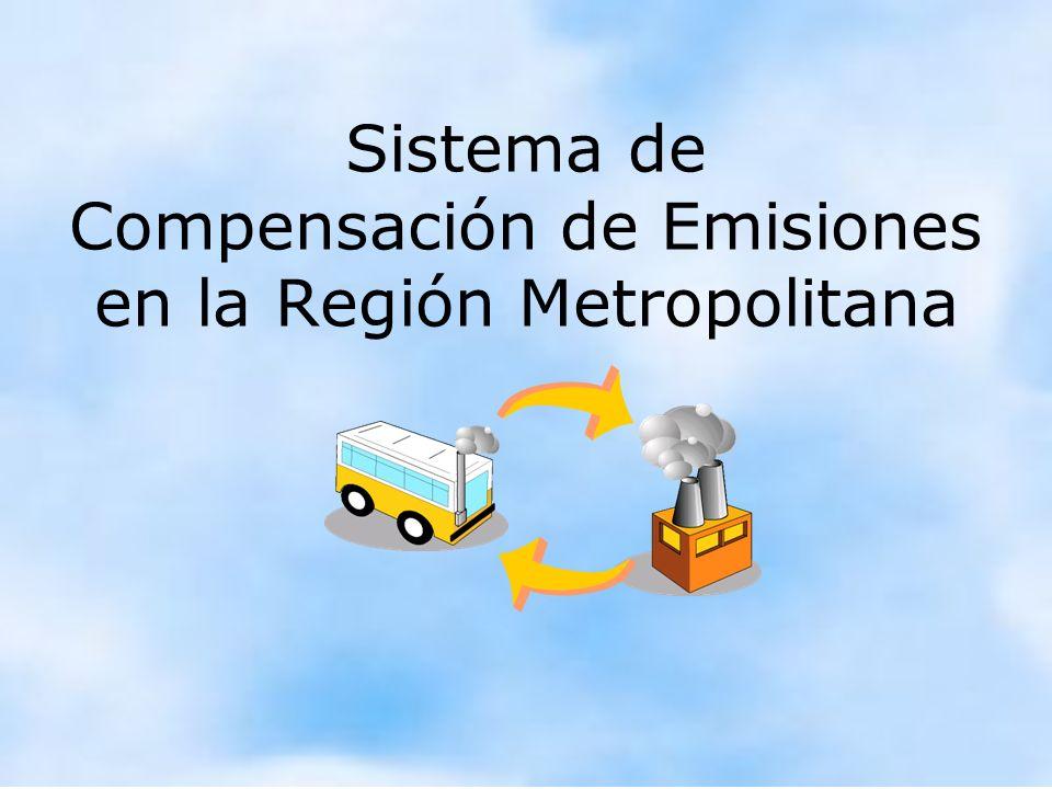 Sistema de Compensación de Emisiones en la Región Metropolitana