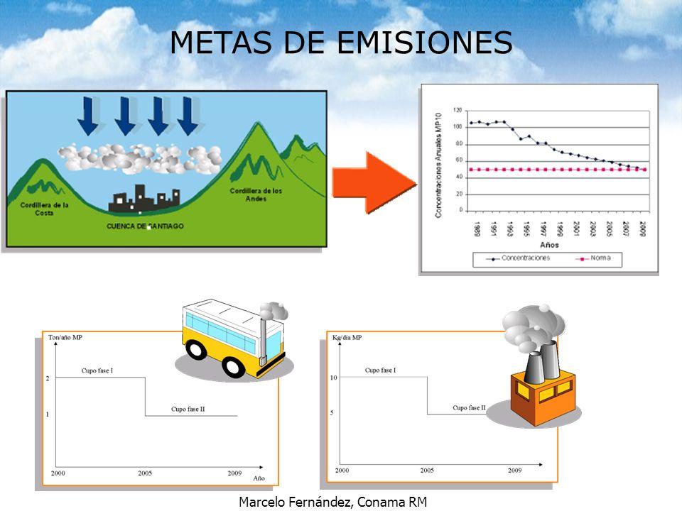 METAS DE EMISIONES