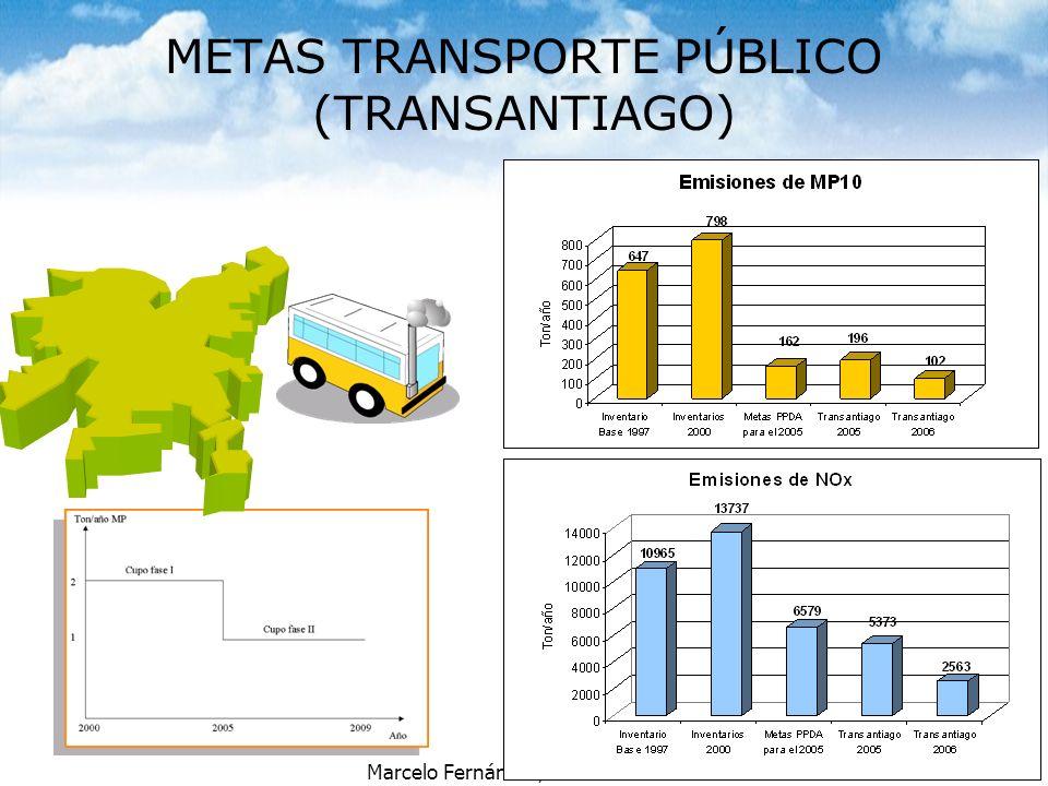 METAS TRANSPORTE PÚBLICO (TRANSANTIAGO)