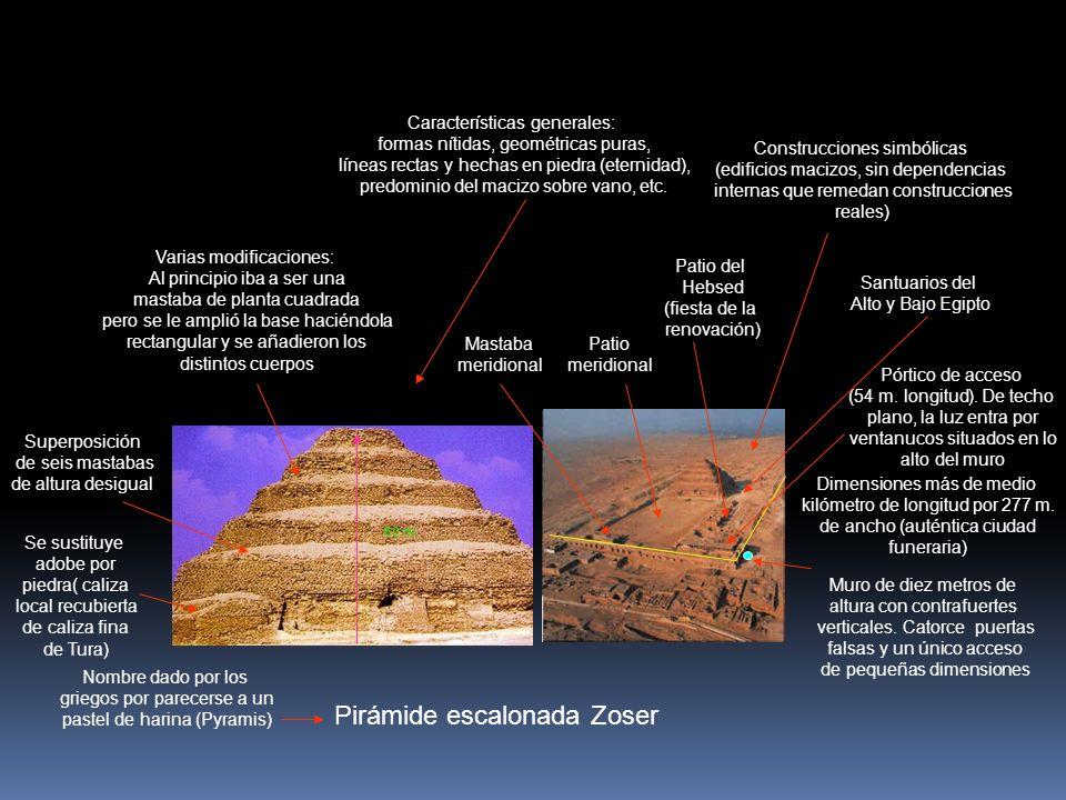 Pirámide escalonada Zoser