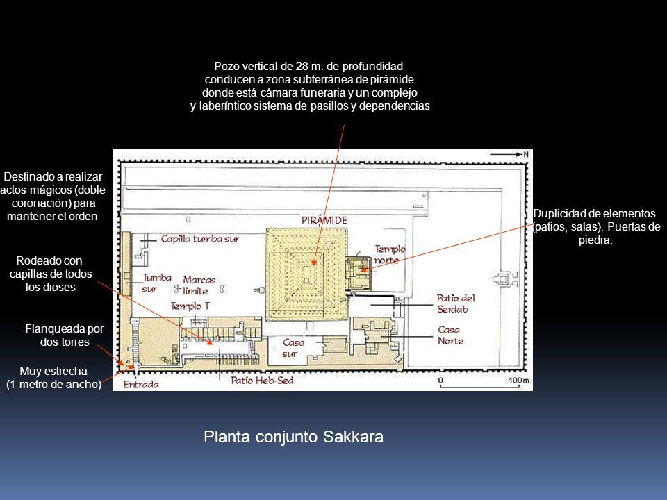 Planta conjunto Sakkara