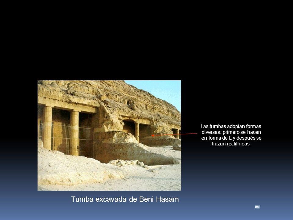 Tumba excavada de Beni Hasam