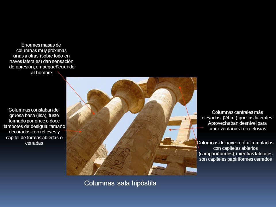 Columnas sala hipóstila
