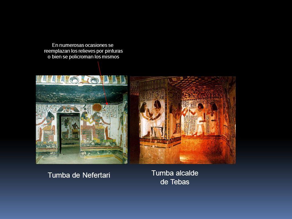 Tumba alcalde Tumba de Nefertari de Tebas En numerosas ocasiones se