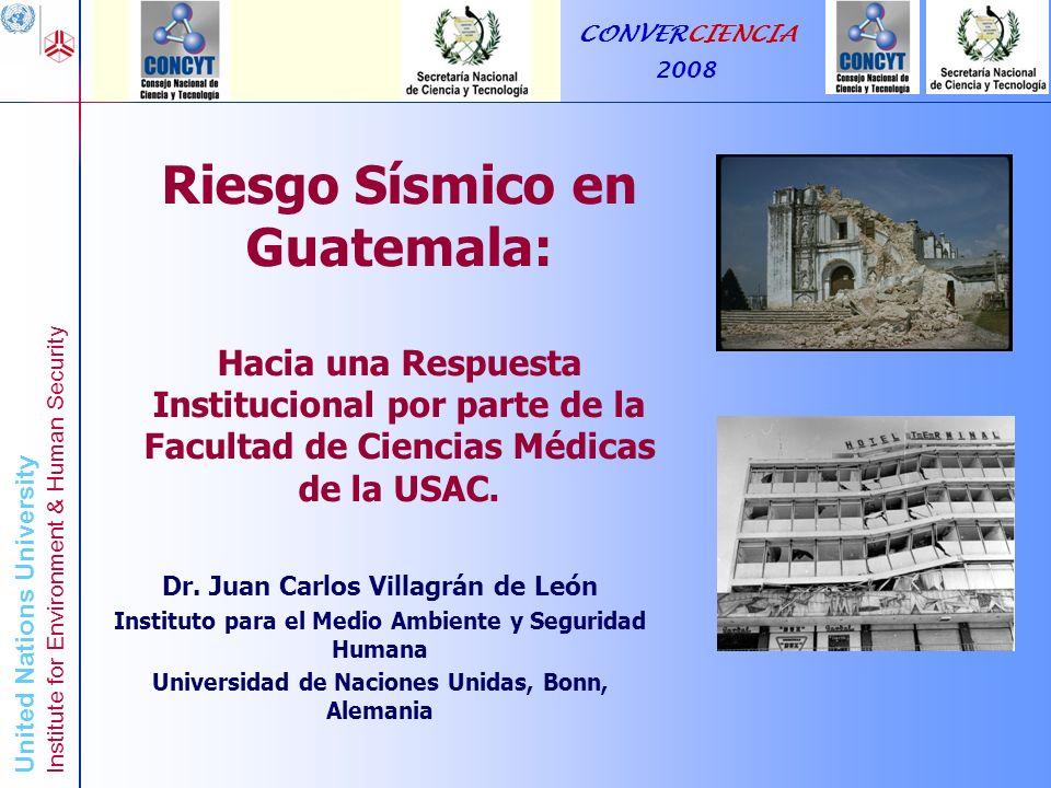 Riesgo Sísmico en Guatemala: