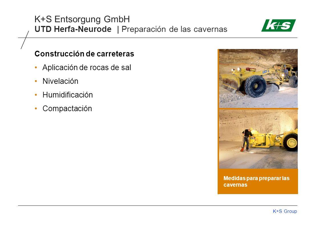UTD Herfa-Neurode | Preparación de las cavernas