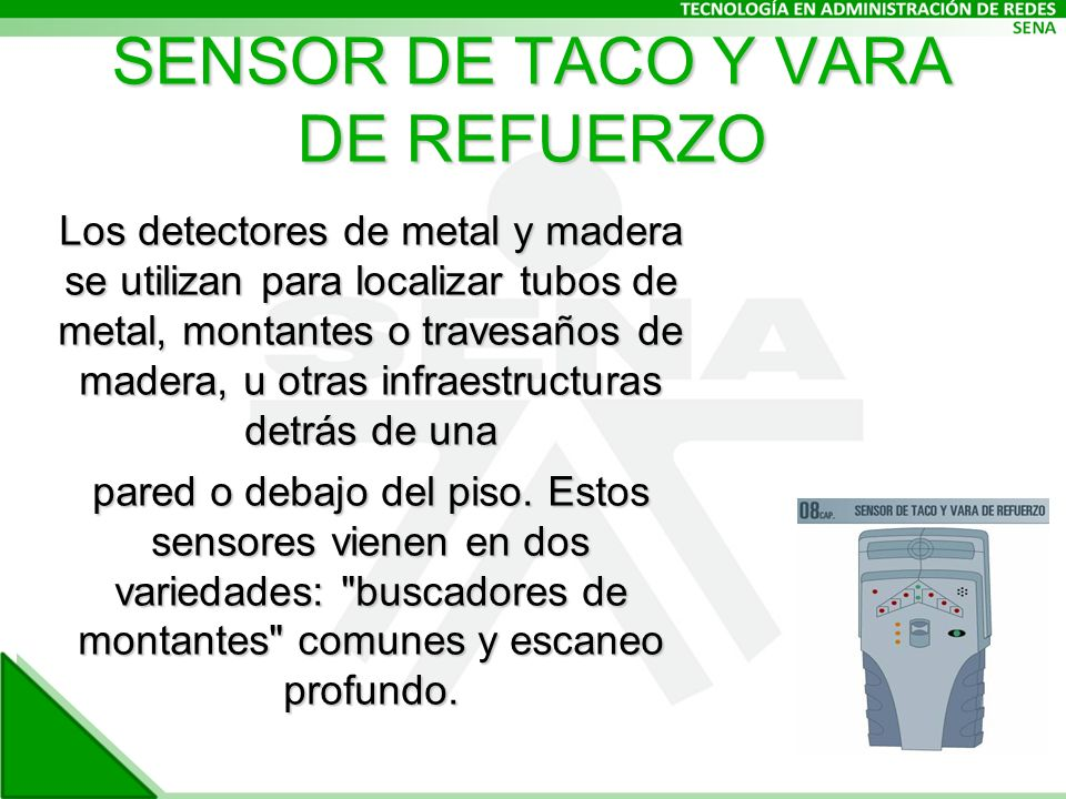 SENSOR DE TACO Y VARA DE REFUERZO