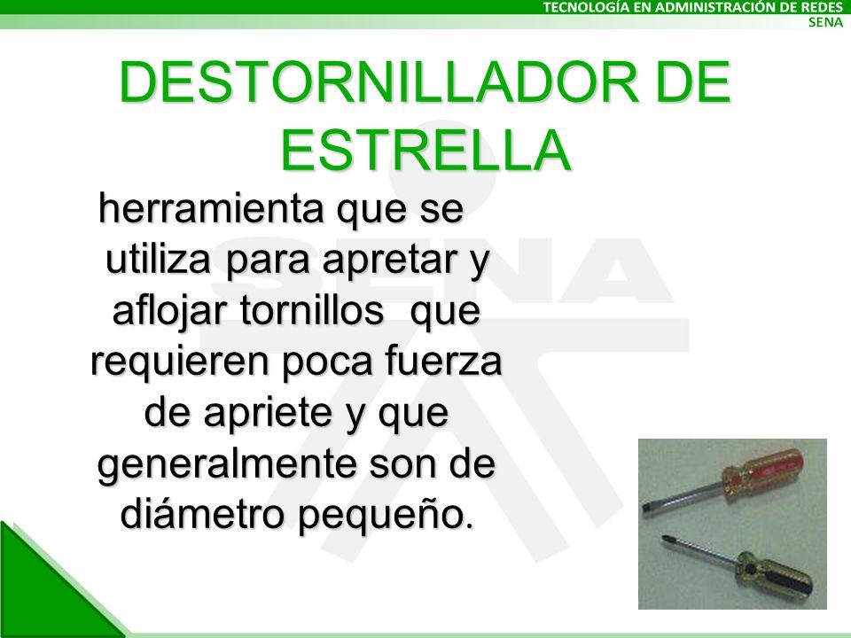 DESTORNILLADOR DE ESTRELLA