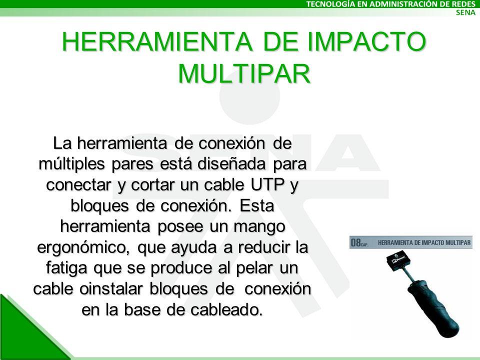 HERRAMIENTA DE IMPACTO MULTIPAR