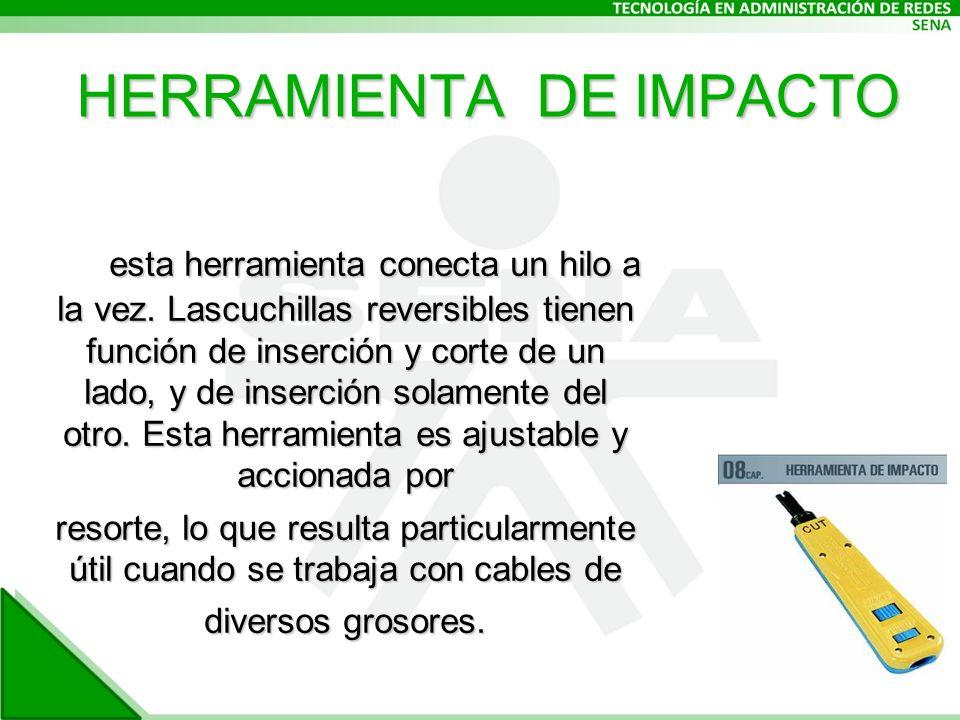 HERRAMIENTA DE IMPACTO