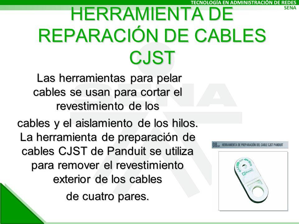 HERRAMIENTA DE REPARACIÓN DE CABLES CJST