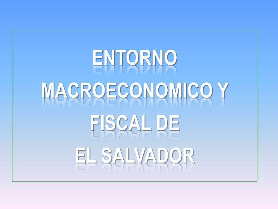ENTORNO MACROECONOMICO Y FISCAL DE EL SALVADOR