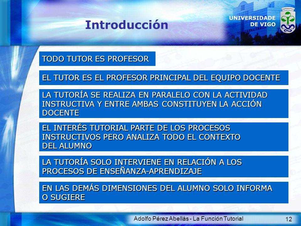 Introducción TODO TUTOR ES PROFESOR