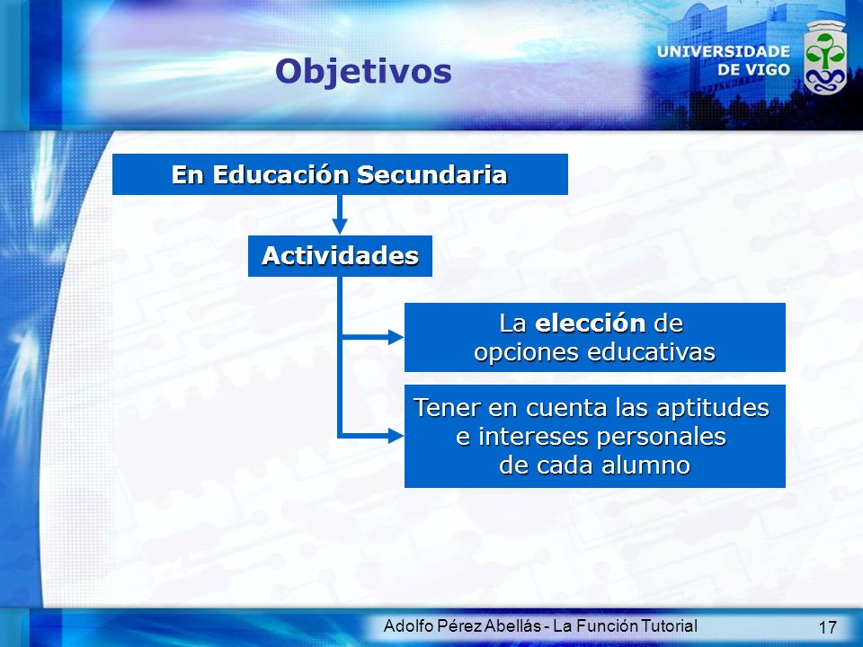 En Educación Secundaria