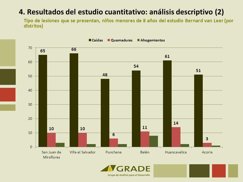 4. Resultados del estudio cuantitativo: análisis descriptivo (2)