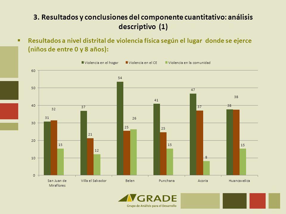 3. Resultados y conclusiones del componente cuantitativo: análisis descriptivo (1)