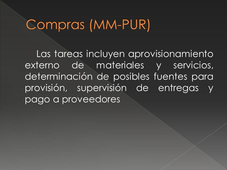 Compras (MM-PUR)