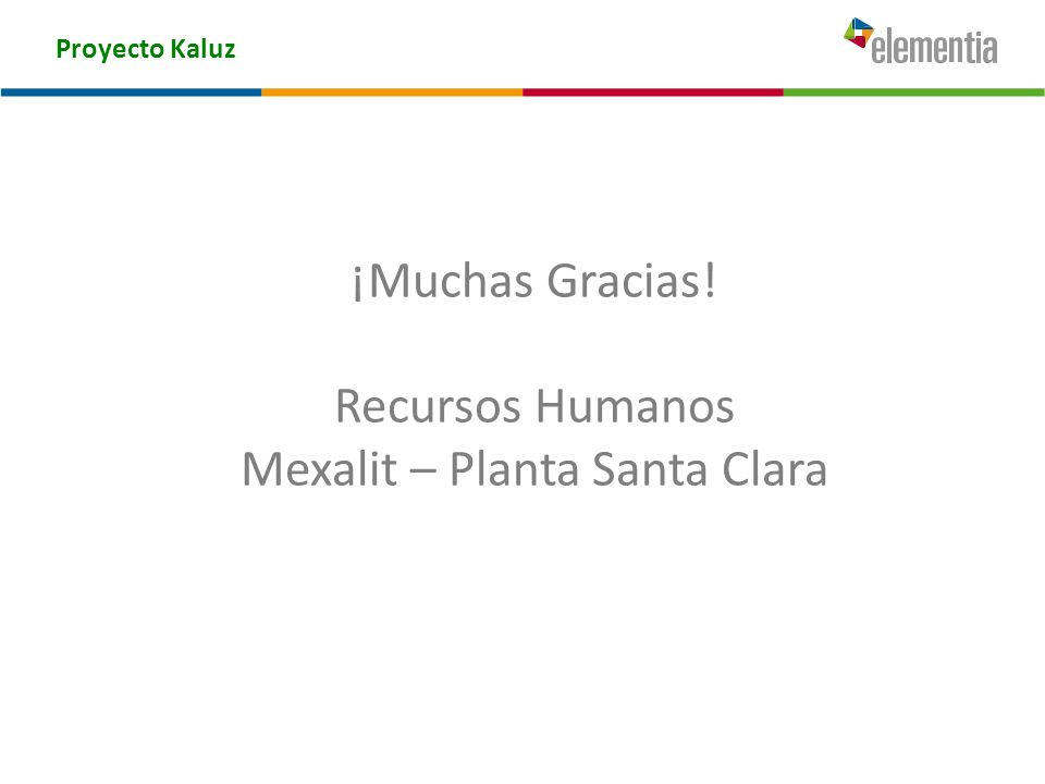 Mexalit – Planta Santa Clara