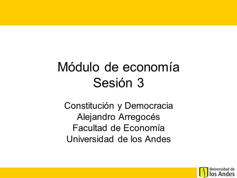 Módulo de economía Sesión 3
