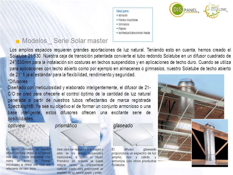 . Modelos _ Serie Solar master